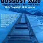 IV EDICIÓN DEL FESTIVAL LITERARIO BLACK MOUNTAIN BOSSÒST 2020 (Nota de prensa y programa)